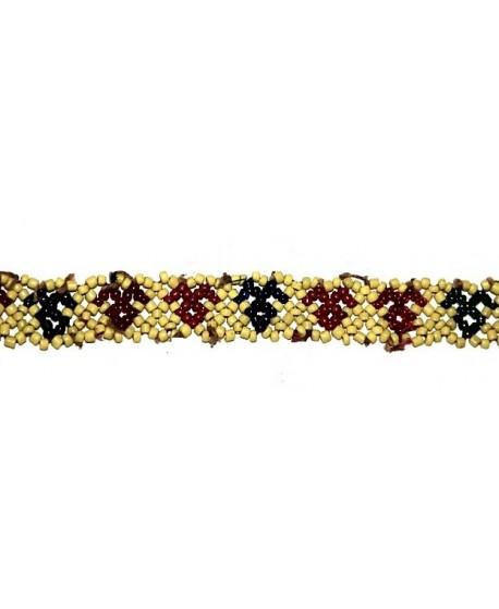 Parche kuchi alargado, largo 29cm, ancho 1,8cm