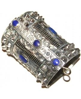 Brazalete antiguo SPIKE con lapislázuli
