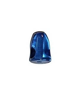 Resina cabeza de pez 11x10mm paso 2mm, azul