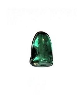 Resina cabeza de pez 11x10mm paso 2mm, verde