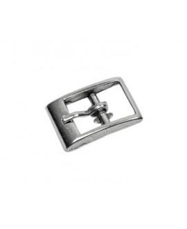 Cierre palo 30x15mm paso 3,80mm , zamak baño de plata