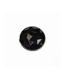 Cabujón acrílico  negro 20mm