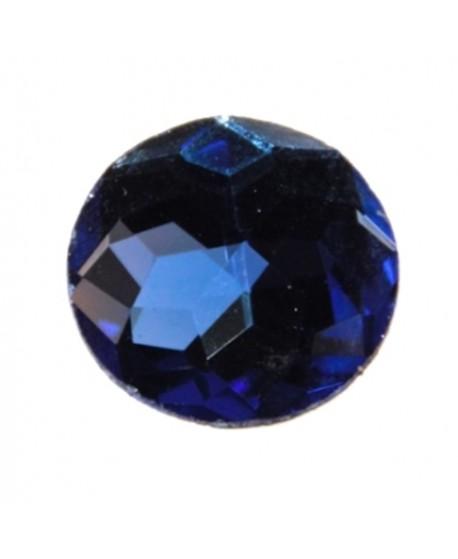 Cabujón acrílico azul 18mm