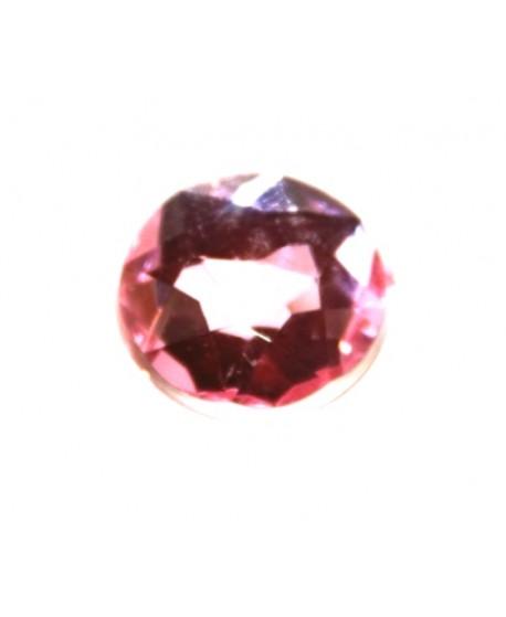 Cabujón acrílico  rosa 18mm