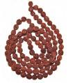 Rudraksha 11mm, 109 piezas, paso 1mm