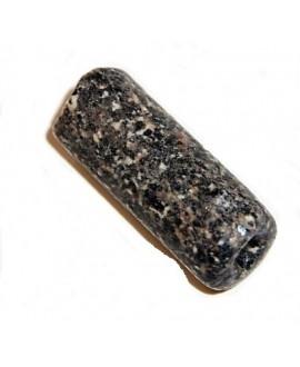 Cuentas  granito antiguo 38x15mm paso 3mm, Djenne, Mali