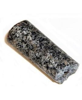 Cuentas  granito antiguo 40x18mm paso 3mm, Djenne, Mali