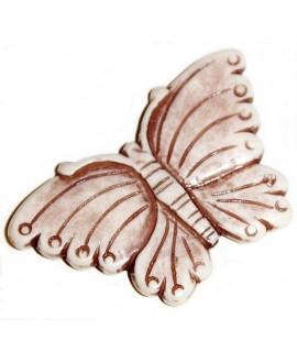 Colgante/entre-pieza resina mariposa 38x60mm paso 2mm