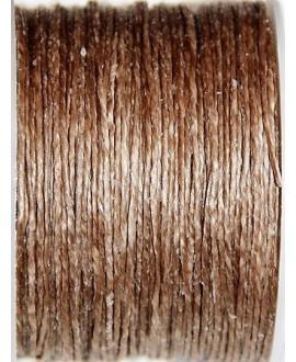 Hilo algodón tailandés natural  1mm, precio por 5 metros