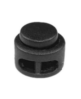 Cierre clip mate para cordones, hilos y cuero 13,5x13mm, paso doble de 2,5x4mm