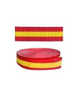 Cinta bandera España 10mm, precio por metro