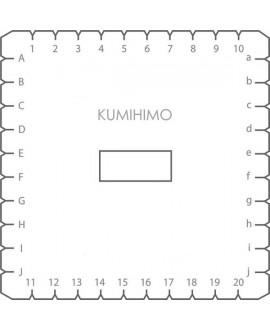 Disco Kumihimo cuadrado