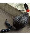 Llavero realizado con semilla de Bodhi tamaño aprox 4/5 cm