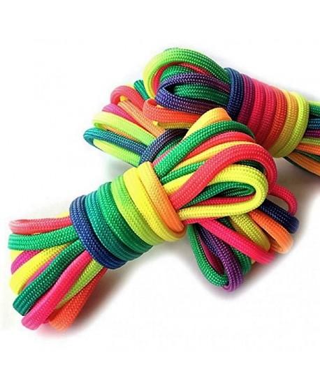 Cordón de Paracord o escalada multicolor  4mm, precio por metro