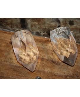 Colgante cristal de cuarzo 40x28mm