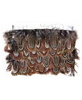Tira de plumas 6cm, precio por 1 metro