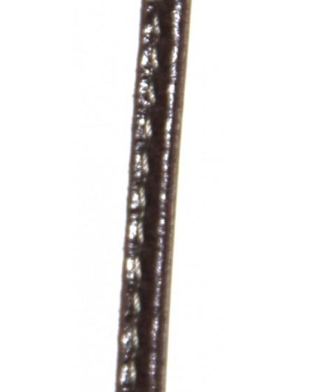 Cuero pespunte 6x4mm, precio por 50cm