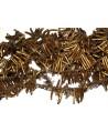 Coral rama oro 6-7mm agujero1mm 75 piezas por tira