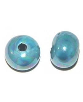 Bola cerámica azul cielo 16mm, paso 3mm