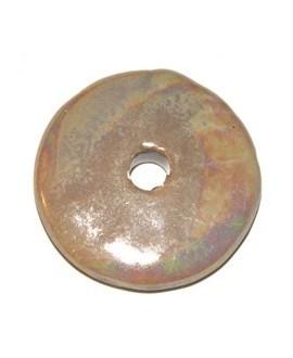 Donut cerámica crema 33mm, paso 5mm