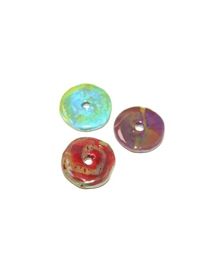 Mix donut ceramica 33mm, paso 5mm