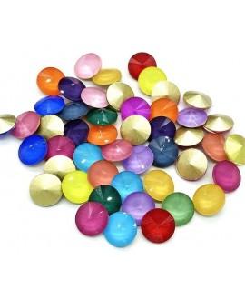 Rivoli de cristal opal 8mm
