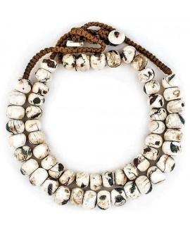 Collar étnico de conchas Naga incrustadas 14 mm