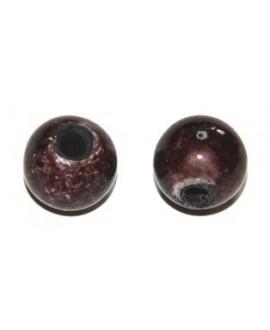 Porcelana rosa-marrón 18mm, paso 3mm