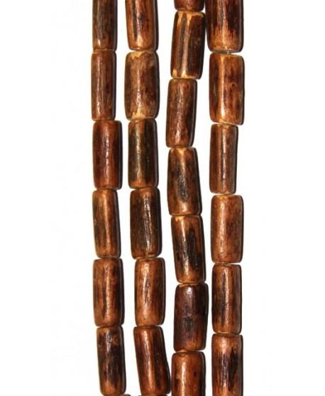 Coco tubo 15x5mm agujero 1mm 50 piezas por tira