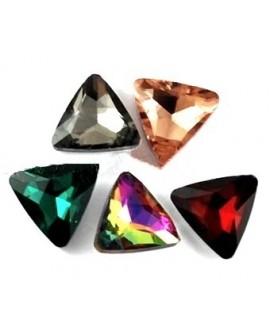 Cabujón cristal triángulo 18mm