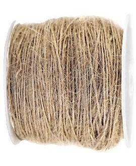Cordón yute 2mm, beige, venta por 5 metros