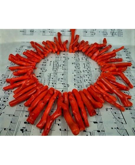Coral rama 10/45mm paso 1mm, precio por ristra de 42cm