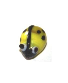 Entre-pieza mariquita amarilla 10mm, paso 1mm
