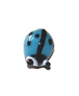Entre-pieza mariquita azul 10mm, paso 1mm