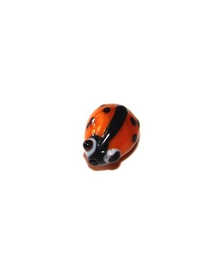 Entre-pieza mariquita  naranja 10mm, paso 1mm