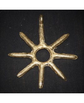 Colgante de bronce 60mm, paso 4mm