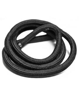 Cordón  poliéster negro  9mm, precio por 20 cm