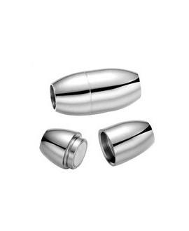 Cierre magnético acero inoxidable 18x8mm paso 5mm