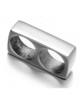 Entre-pieza 12x7x3mm, acero inoxidable alta calidad, paso doble 5mm