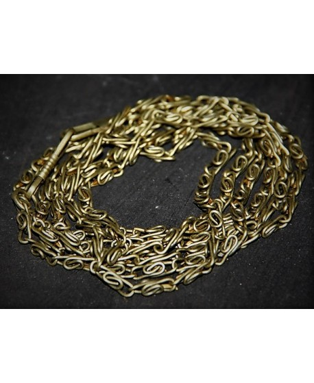 Cadena bronce 4mm, precio por 50cm