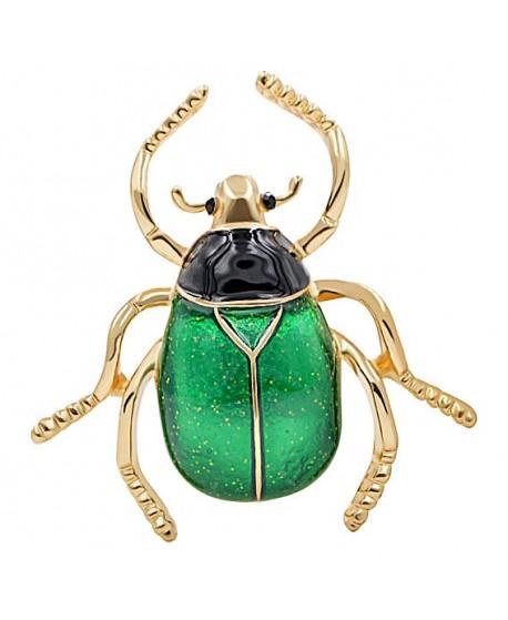 Broche escarabajo 38x38mm