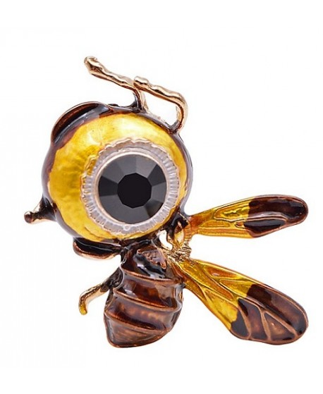 Broche  abeja 32x38mm