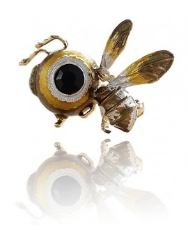 Broche  abeja 33x38mm