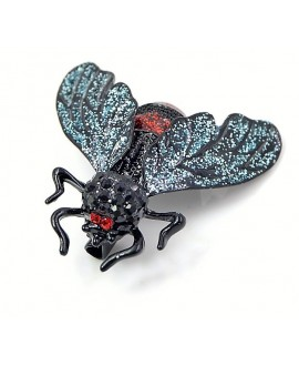 Broche  abeja 34x34mm