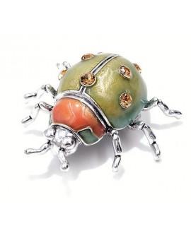 Broche escarabajo 43x46mm