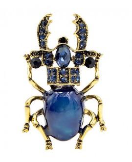 Broche escarabajo 38x25mm