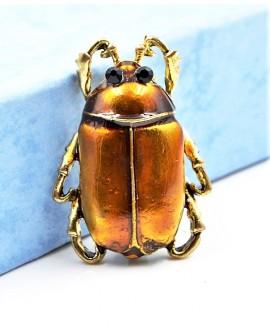 Broche escarabajo 30x25mm
