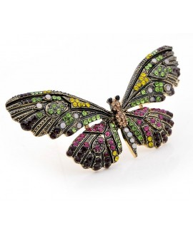 Broche mariposa 42x82mm