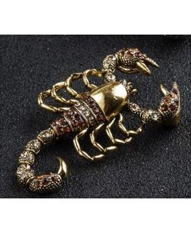Broche escorpión 50x28mm