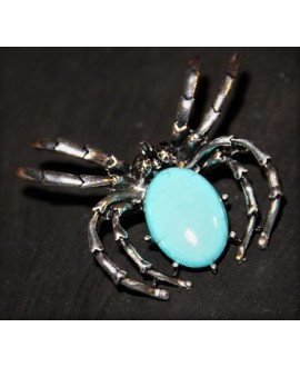 Broche/colgante araña 50x60mm